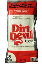 Royal Dirt Devil CV950 RV Central Vacuum Bags