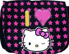 Hello Kitty I Love Hello Kitty Large Messenger Bag with Beads New