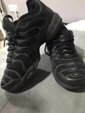 Men's Uk 7 Nike Air Max Plus Tn Ultra Triple Black (RARE) Reflective Changes