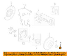 NISSAN OEM Brake-Rear-Axle Nut Lock Nut 402631CA0A