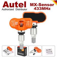 2X Original AUTEL MX-Sensor 315 & 433 MHz TPMS Coche Presión Neumáticos Sensor