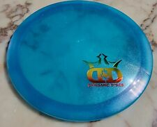 Dynamic Discs Special Edition Lucid Glimmer Evader Blue with DD Texas Stamp 175g