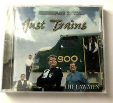 LAWMEN - Just Trains - CD - **BRAND NEW/STILL SEALED**