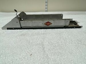 MARX #1392 Lift Bridge Hand Crank Model Train Bridge  Illinois Central RR Line