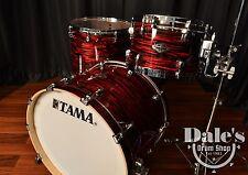Tama drums sets 3pc Starclassic Performer B/B Red Oyster 8x12, 16x16, 16x22 NEW