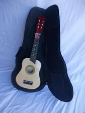 Chitarra cm 63 con corde metallo per bambino 3/4 anni Piccolo strumento in legno