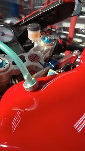 Ducati 749R tank fuel nipple