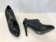 05033bedbb Stella McCartney Black Vegan Leather Boot Bootie size EU 39 1/2 US 8 1