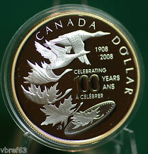 2008 Canada Silver special edition dollar - Royal Canadian Mint centennial