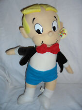 "1999 Harvey Comics Richie Rich 20"" Plush Soft Toy Stuffed Animal"