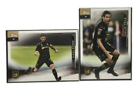 LAFC Los Angeles Cards Lot: 2021 Topps MLS Soccer #21 Carlos Vela, Diego Rossi