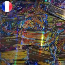 Lots de cartes Pokemon neuves GX MEGA brillantes en français ideal pour enfants