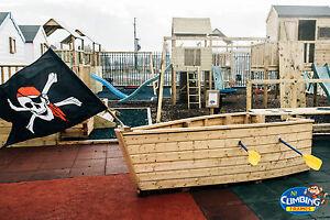 Climbing Frame - Garden Games, Outdoor Toys, Garden Toys (MINI PIRATE SHIP)