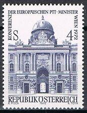 1972 Oostenrijk 1385 Europese conferentie ministers van de PTT