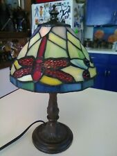12 Inch Tiffany Style Dragonfly Lamp
