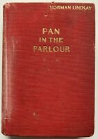 1933 1st PAN IN THE PARLOUR, NORMAN LINDSAY w 27 DRAWINGS, FREE EXPRESS W/WIDE