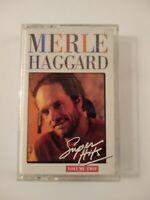 Merle Haggard, Super Hits Vol. 2, Cassette Tape