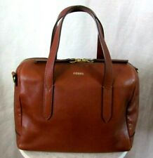 FOSSIL Brown Leather Doctor's Satch