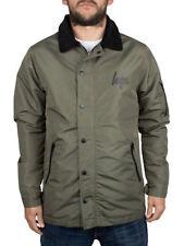 Button Cotton Spring Coats & Jackets for Men