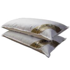 2x Kopfkissen mit 70% Federn und 30% Daunen Kissen Set in 40x80 cm Federkissen