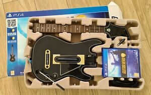 PS4 GUITAR HERO LIVE BOXED WITH GUITAR GAME & DONGLE PLAYSTATION 4 - FREEPOST