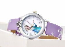 NEW Disney Frozen Wrist Watch Girls Elsa Anna Children Kids Gift Party,Christmas