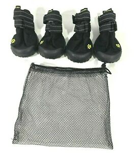Zacro Protective Dog Boots 4PCS Waterproof Outdoor Shoes  M  to  L  Dogs Size 5