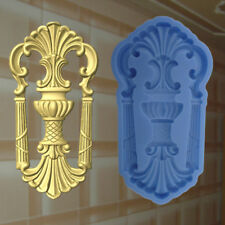 Gießformen Verzierung Silikonformen Gips Ornament Relief Deckenverzierung  (207)