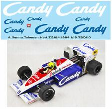 Toleman duro tg184 Monaco GP 1984 ayrton senna coche modelo 1:18 Minichamps