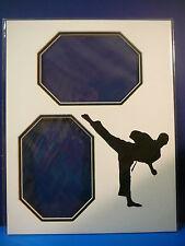 Martial Arts Custom Photo Frame Mat