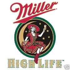 """Miller High Life Vinyl Sticker Decal 18"""" (moon)"""