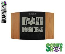 SecureShot Wall Desk Atomic Clock Covert Hidden Spy Nanny Color Camera DVR