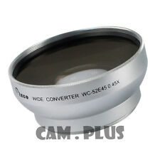 New 52mm 0.45X Wide Angle Lens With Macro For Canon Nikon With 52 mm Filter