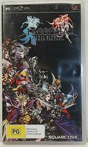 DISSIDIA FINAL FANTASY with booklet, case and disc Sony PSP Playstation Portable