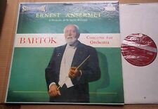 Ansermet BARTOK Concerto for Orchestra - London Blueback CS 6086 1E/1E