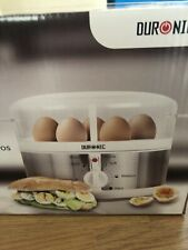 Duronic EB35 Electric 7 Egg Boiler Steamer Cooker with Buzzer - Soft | Medium |
