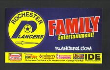 2014-15 Rochester Lancers Schedule