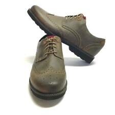 Dunham Revdare Mens 16 4E EU 51 Lace Up Wingtip Shoes Gray Leather Waterproof