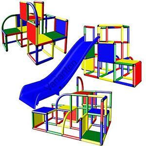 Moveandstic Kletterturm Spielturm Profi Baukasten Klettergerüst Spielgerüst