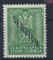 Serbien (Dt.Bes.2.WK.) P8 postfrisch 1941 Portomarken (9222871