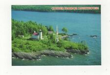 Copper Harbor Lighthouse Michigan Postcard USA 409a ^