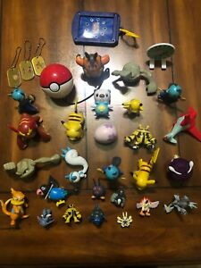 pokemon Lot Of 32 Pcs Figures
