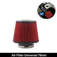 """Air Filter Intake 76mm 160mm height Cold Cone Car Air Filter Breather 3"""" Inlet"""