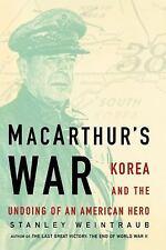 MacArthur's War: Korea and the Undoing of an American Hero (Paperback or Softbac