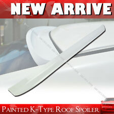 Painted FOR Volvo S60 1st K-Style Rear Window Roof Spoiler 04-09 4DR Sedan§