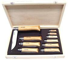 kit Coltello Opinel set da 10 coltelli con cofanetto in legno idea regalo