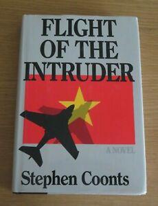 *** SIGNED *** FLIGHT OF THE INTRUDER STEPHEN COONTS HARDBACK
