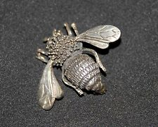 SILPADA - I0584 - Sterling Silver Bee Pin - RARE! HTF!