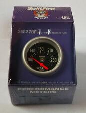 SplitFire (eléctrico) calibrador temperatura de agua,100-250f,esfera negra