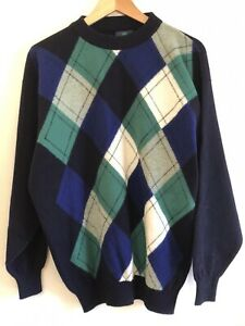 """Vintage Pringle Scottish Rugby Union Collection 100% Wool - Made in Scotland 48"""""""